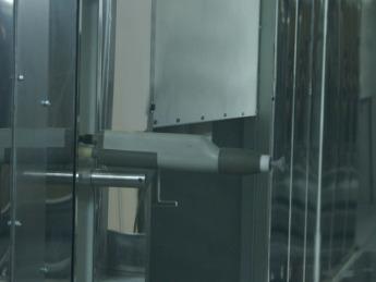 Powder-Enamel-Coating-Booth, Poudre-D'émail-Cabinet, Pulbere-Email-Cabinet, Порошковой-эмалью-Кабинет