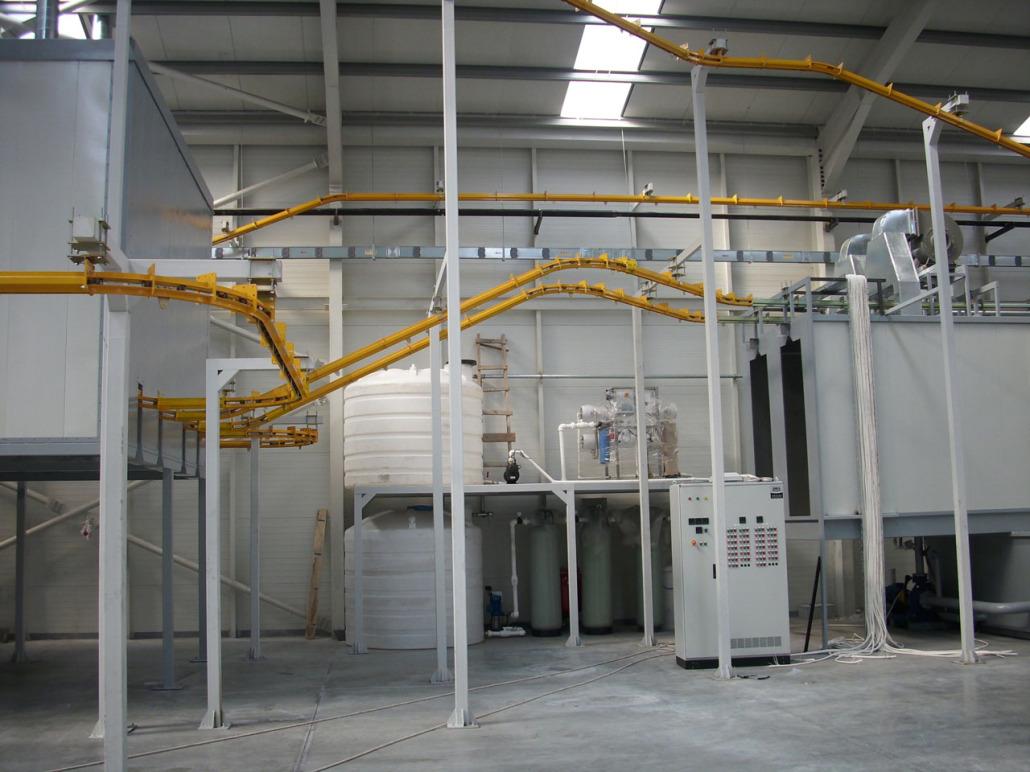 Spray Type Surface Preparation Makbes Makina